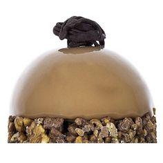 """Has probado nuestro postre """"Illa"""" by Escribà? Bavaroise de avellana. Interior de cremoso de chocolate con leche y base de crujiente de avellana caramelizada arroz inflado y chocolate con leche. Glaseado de chocolate con leche.  Disponible en nuestras tiendas.  Has provat el nostre postre """"Illa"""" by Escribà? Bavaroise d'avellana interior de cremós de xocolata amb llet i base de cruixent d'avellana caramellitzada i arròs inflat i xocolata amb llet. Glacejat de xocolata amb llet. Disponible a…"""