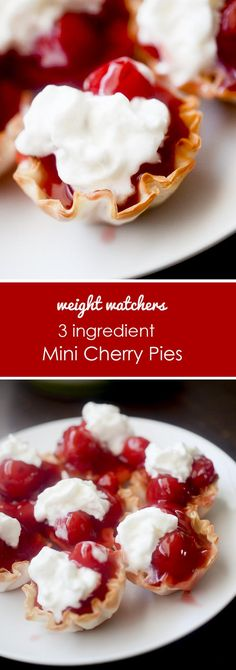 Mini Cherry Pies - Recipe Diaries
