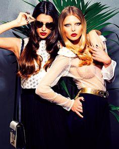 LV Glam for Magazine de la Vanguardia Production Dogma Moda Photo Sergi jasanada stylist Angel cabezuelo make up & hair Montse Ribalta
