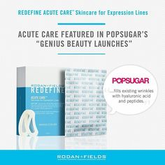 More free press exposure from POPSUGAR! Make your expression lines disappear!