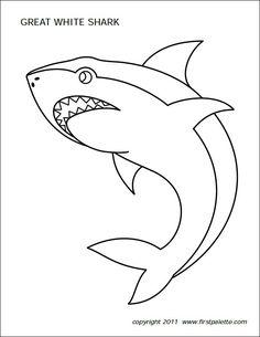 printable shark coloring pages new big angry sharks