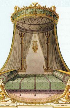 Fontainebleau, etc… « Trouvais via DDF Interior Rendering, Home Interior Design, Interior And Exterior, Interior Decorating, French Furniture, Vintage Furniture, La Malmaison, Grand Art, French Empire