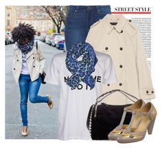 """""""Simply Cyn: HAPPY MONDAY OH CARO!"""" by prettyorchid22 ❤ liked on Polyvore featuring Paige Denim, Zara and Seychelles"""