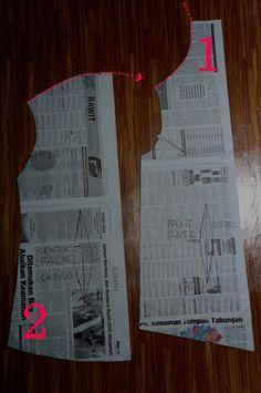 Kebaya pattern making