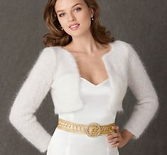 Ravelry: Royal Shrug - Inspired by Kate Middleton wedding reception wear pattern by Erin Elkins
