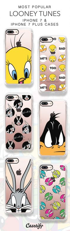 Most Popular Looney Tunes iPhone 7 Cases & iPhone 7 Plus Cases here > https://www.casetify.com/collections/looney_tunes#/?multiCategory=Y