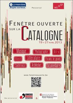 Belgium: Festival Fenêtre ouverte sur la Catalogne - https://www.facebook.com/pages/Festival-Fen%C3%AAtre-ouverte-sur-la-Catalogne/541774672533901 #jeunessesmusicales #bruxelles #catalogne