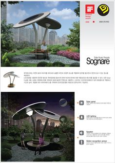 Concept Architecture, Landscape Architecture, Architecture Design, Urban Furniture, Street Furniture, Bus Stop Design, Solar City, Art Nouveau Interior, Landscape Elements