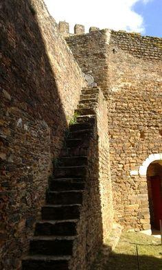 Castelo de Alandroal, um dos mais bem conservados do Alentejo. Portugal.