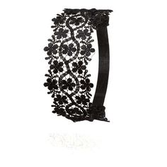 Love the charlotte russe Embroidered Lace Head Wrap on Wantering.