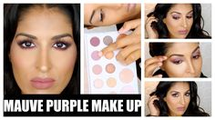 Purple Mauve Makeup - Carli Bybel x BH Cosmetics Palette