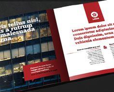 12 Page Case Study Brochure Design by ramijames (via Creattica)