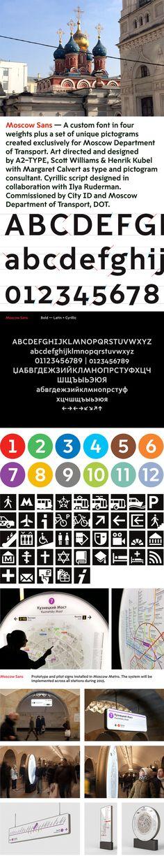 A2/SW/HK - Typeface + signage + pictograms