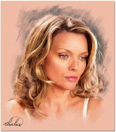 Michelle Pfeiffer par shahin Discover The Secrets Of Drawing Realistic Pencil Po. - Michelle Pfeiffer par shahin Discover The Secrets Of Drawing Realistic Pencil Portraits… pencil-p - Portrait Au Crayon, Pencil Portrait, Portrait Art, Drawing Portraits, Celebrity Caricatures, Celebrity Drawings, Celebrity Portraits, Portraits Pastel, Pencil Painting