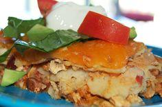 Effortless Chicken Enchiladas