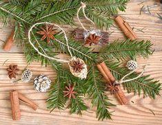 Rozvoňajte si stromček prírodnými ozdobami zo sušeného ovocia a korenín Christmas Diy, Christmas Wreaths, Christmas Decorations, Holiday Decor, Home Decor, Decoration Home, Room Decor, Home Interior Design, Homemade Christmas