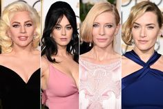 The big look at the Golden Globes this year was retro hair. What do you think about classic hairstyles on today's celebrities?