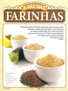 Dra Fernanda Granja Nutricionista Funcional: Receitas Farinha de Berinjela, farinha de Maracujá,Feijão Branco e etc