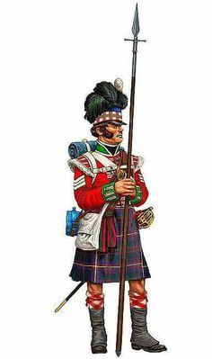 79th Cameron Highlander sergeant