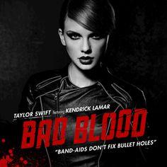 Taylor Swift Feat. Kendrick Lamar - Bad Blood (Official Single Cover) - Bad Blood (Taylor Swift song) - Wikipedia, the free encyclopedia