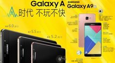 "Samsung Galaxy A9 with 6-Inch Display is Now Official ""Just yesterday we told you that Samsung's new Galaxy A9 device passed China's TENAA certification. This meant that a launch was soon expected...."