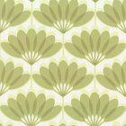 Caselio Cairo Wallpaper Green / White