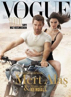 Kendall Jenner & Mert Alas on Vogue Turkey June 2018 Cover