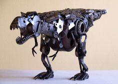Tomas Vitanovsky Welds Animal Sculptures Out of Scrap Metal