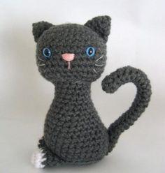 modèle doudou chat tricot gratuit