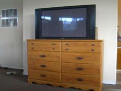 site which show how to build your own retractable TV