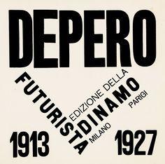 Fortunato Depero — Depero Futurista – 1927