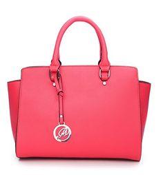 8bd9e86a09ed K664018L MyLux® Women Fashion Designer Purse handbag (664018CORAL1)