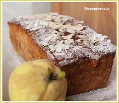DONNA CARAMELLA: Kweepeer cake Home Recipes, Cooking Recipes, Cake & Co, Fudge, Donuts, Banana Bread, Food To Make, Deserts, Sweets