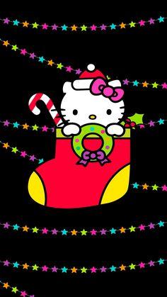 Say Hello to Kitty — Hello Kitty / X'mas Hello Kitty Shoes, Hello Kitty My Melody, Sanrio Hello Kitty, Hello Kitty Backgrounds, Hello Kitty Wallpaper, Love Wallpaper, Hello Kitty Characters, Sanrio Characters, Merry Christmas Wallpaper