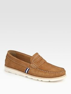 Hunter  Suede Penny Loafers
