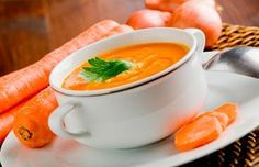 ¡Sorpréndete con esta Crema de Zanahoria!