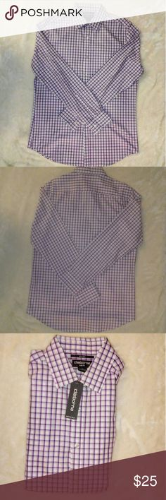 Liz claiborne slim fit Medium shirt New shirt Never worn With tags Liz Claiborne Shirts Casual Button Down Shirts