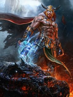 Vlad Marica - Concept art: Magni, Son of Thor
