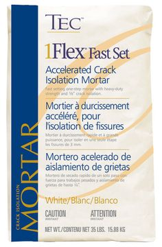 """TEC- Fast Set 1Flex Accelerated 1/4"""" Crack Isolation Mortar 