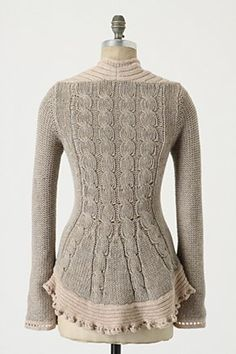 PInafore Pullover, back view
