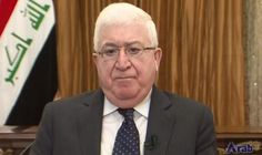 Iraqi president stresses importance of addressing impacts of fires set in Nineveh