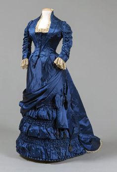 Dress belonging to first lady Lucretia (Mrs. James) Garfield (1881). Western Reserve Historical Society Twitter