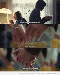 """Do you believe in soul mates?"" Cafe de Flore"