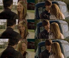 Ty: You know I've had my fair share of dinners at Heartland. I was thinking that maybe next time I could make you dinner at my place. Amy: Are you like asking me on a date? Ty: Yeah, I guess I am. Dinner and dancing. Whatever. Amy: Dancing? Ty: Well, I got a radio and about a square foot of floor space. (5x02) Ty And Amy, Amber Marshall, Season 12, Floor Space, Heartland, Dancing, Dinners, Fandoms, Couple Photos
