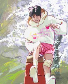 Kids Fans, Baby Squirrel, Kpop Drawings, Kpop Fanart, Baby Photos, Boy Groups, Art For Kids, Cool Art, Digital Art