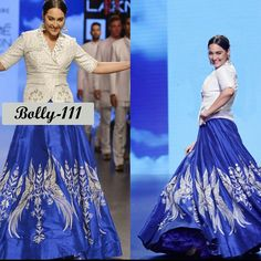 Checkout this Sonakshi Sinha Designer Embroidered Lehenga  Product Info : Bhagalpuri silk with complete thread work and heavy brocade blouse  Blouse - heavy brocade  Skirt - Bhagalpuri silk  Price : 2400 INR Only ! #Booknow  CASH ON DELIVERY Available In India ! Shipping Charges Extra 👉 World Wide Shipping Available ! ✈ PayPal / WU Accepted 👉 Free Shipping On Prepaid Shipment In India 👉 Stitching Service Available 👉 To order / enquiry 📲 Contact Us : +91 9054562754 ( Wh..