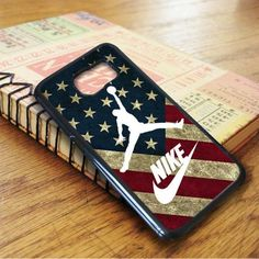 Us Flag Nike Jordan Samsung Galaxy S7 Edge Case