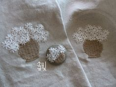 Simple Embroidery, Hand Embroidery Stitches, Hand Embroidery Designs, Embroidery Kits, Decorative Hand Towels, Lavender Bags, Brazilian Embroidery, Sewing Material, Needlework