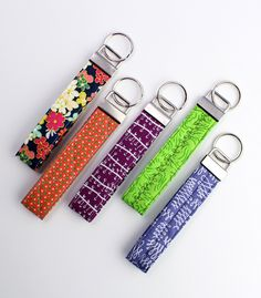 Key fob tutorial-  easy gift idea!   Laurel Leigh Studios