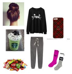 """""""Having a bad day :("""" by flormanhana on Polyvore featuring Victoria's Secret"""